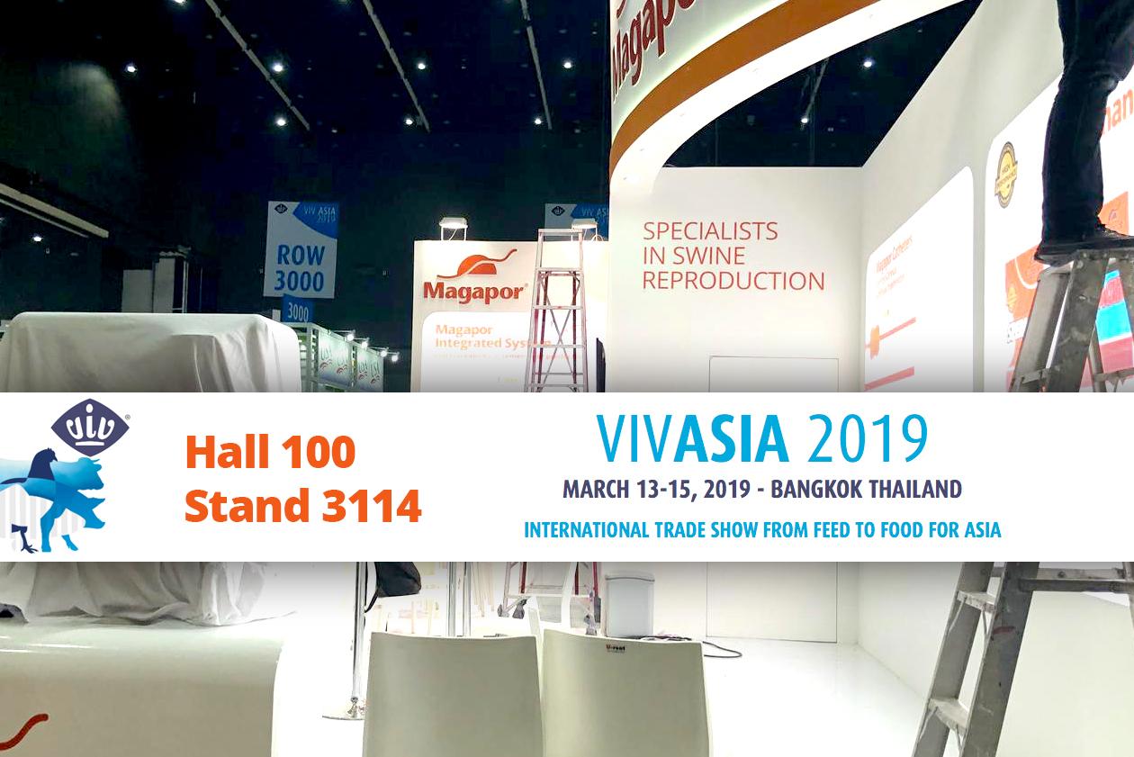 Magapor ready VIV ASIA 2019