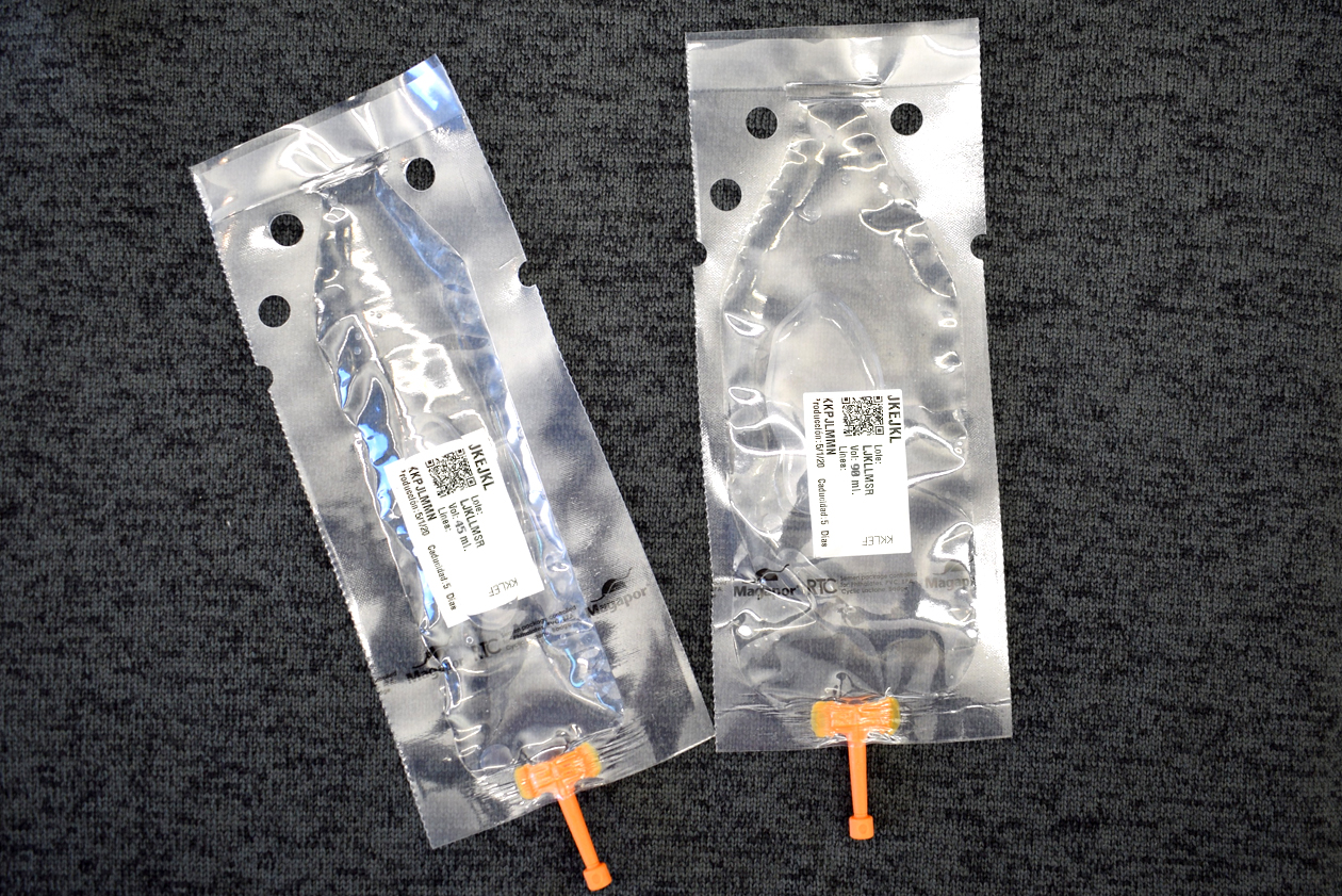 Magapor packaging