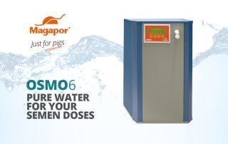 OSMO6, equipo de ósmosis inversa Magapor