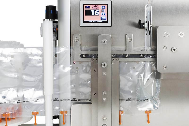 Simplymatic automatic semen doses packaging machine