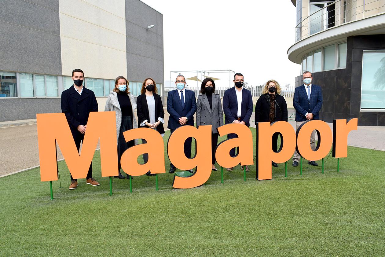 Maru Díaz visita Magapor