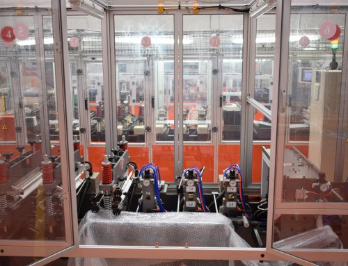 Nueva máquina de fabricación de envases para dosis seminales porcinas